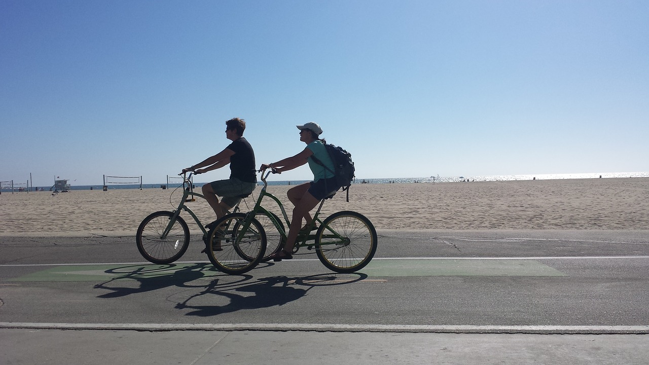 faire du vélo
